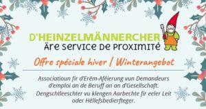 D'Heinzelmännercher - Äre Service de proximité
