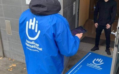 Handicap international – Activité porte-à-porte