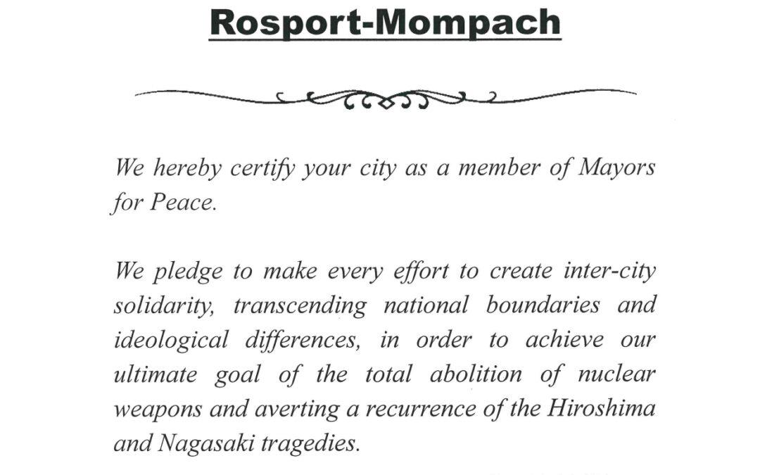 Membership – Mayors for peace